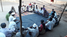 Meeting with Villagers