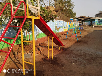 Play area in Anandi Shala