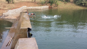 Only water body in summer within a radius of 5 kms