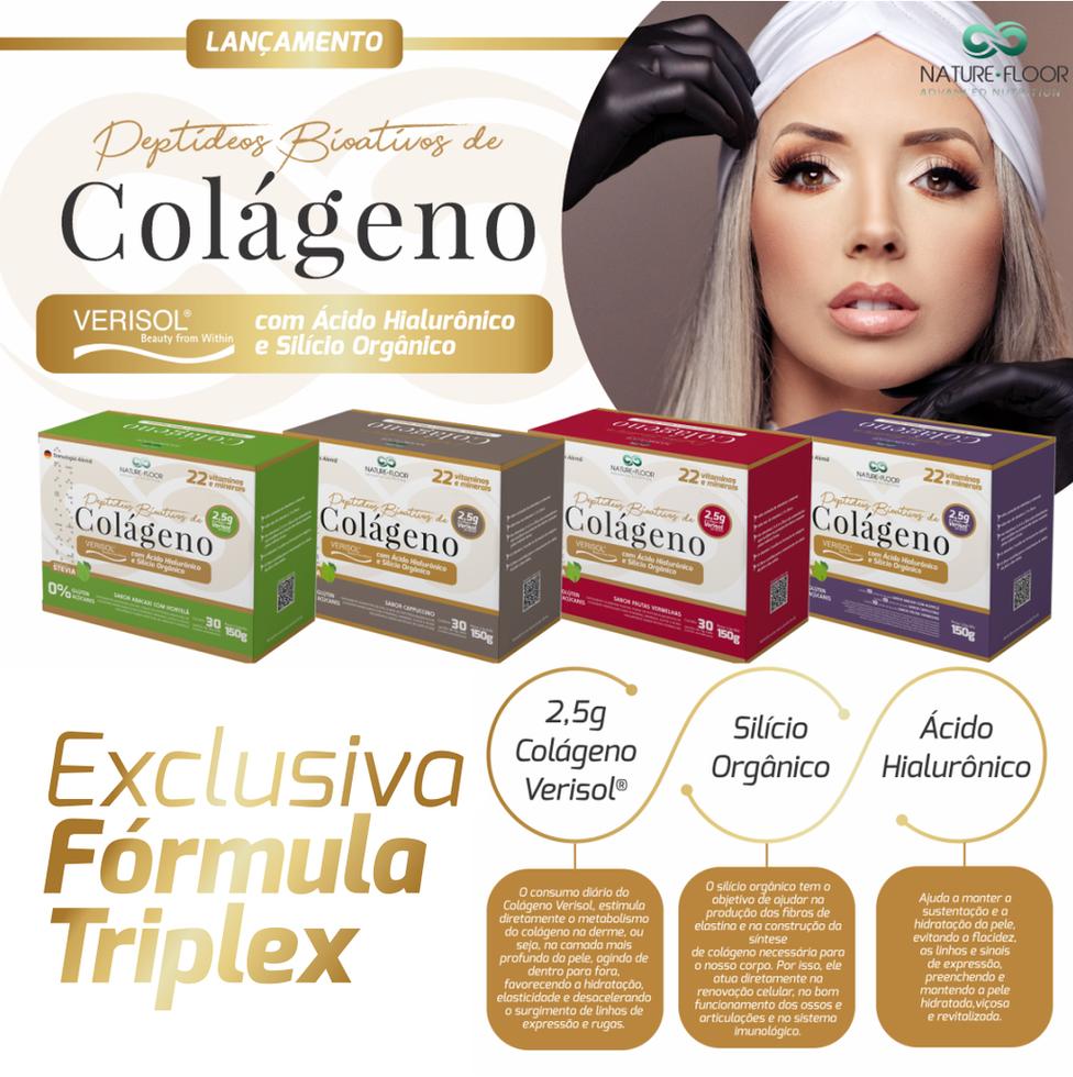 Colágeno Verisol®  Nature Floor com Ácido Hialurônico e Silício Orgânico