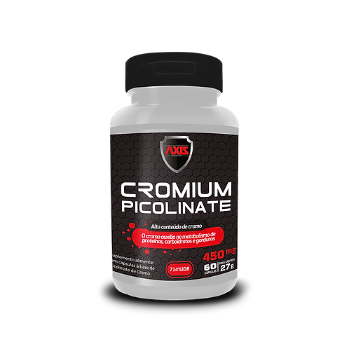 Cromium Picolinato (Cromo) 450mg 60cps