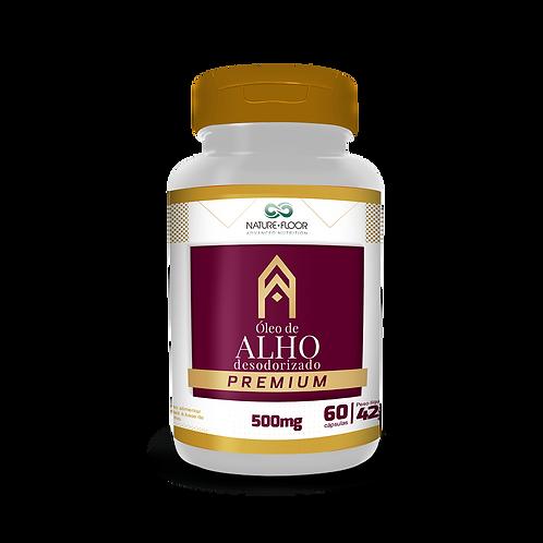 Óleo de Alho - 500mg - 60caps