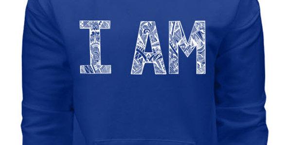 I AM Royal Blue Sweatshirt