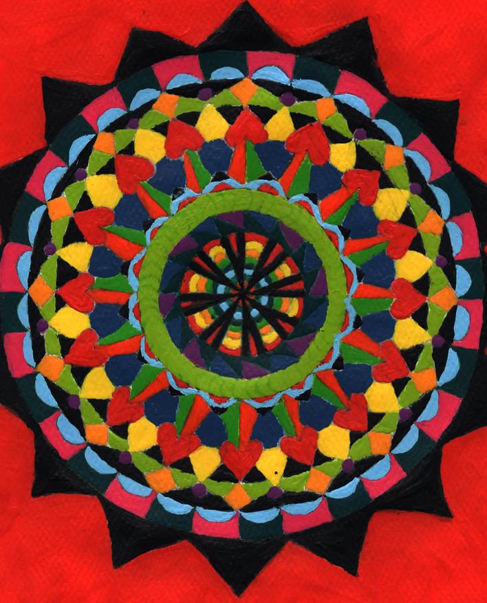 K Turner 4 Bright Mandala