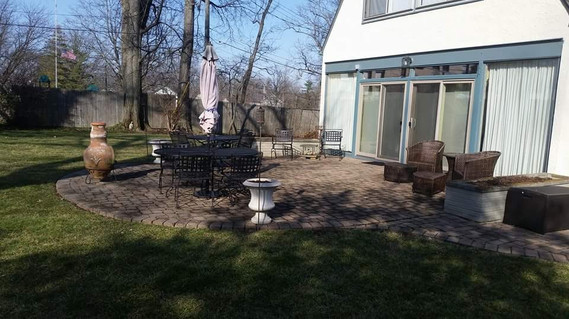A Patio Fit for a Mayor!