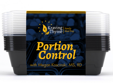Portion Control with RD Megan K!
