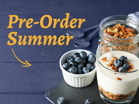 New Summer Meals