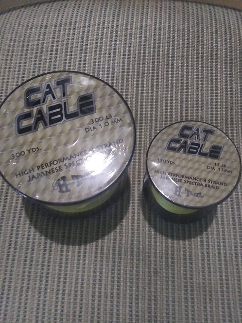 HTT Cat Cable 8 Strand Braided Fishing Line