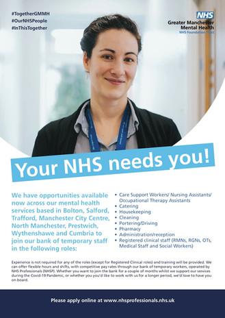 NHS Recruitment Campaign
