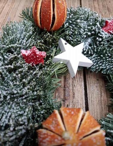 Xmas wreath/decoration experience