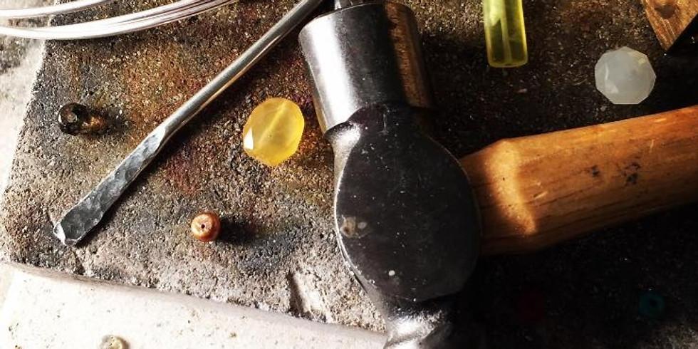Silver and Bead Earring Workshop: £80 4-hour weekend workshop (1)