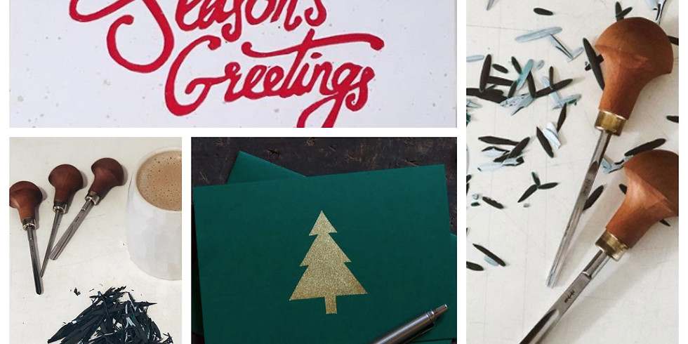 An Introduction to Linocut  - make Christmas Cards : £65 : 10am - 4pm