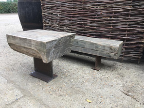 outdoor table & bench