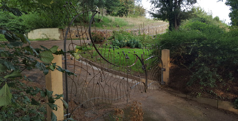 60/40 gate installed in place