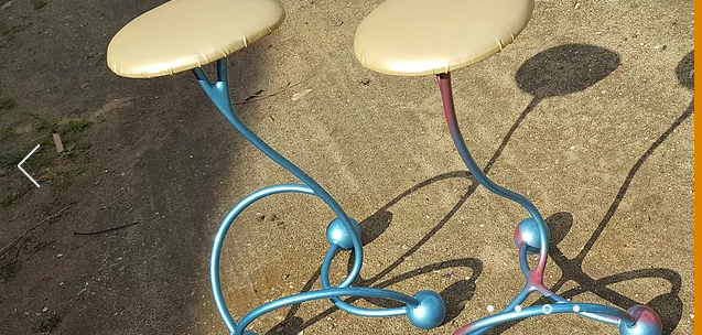 'The Ugly Family' - self-levelling stools