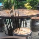 barrel seats