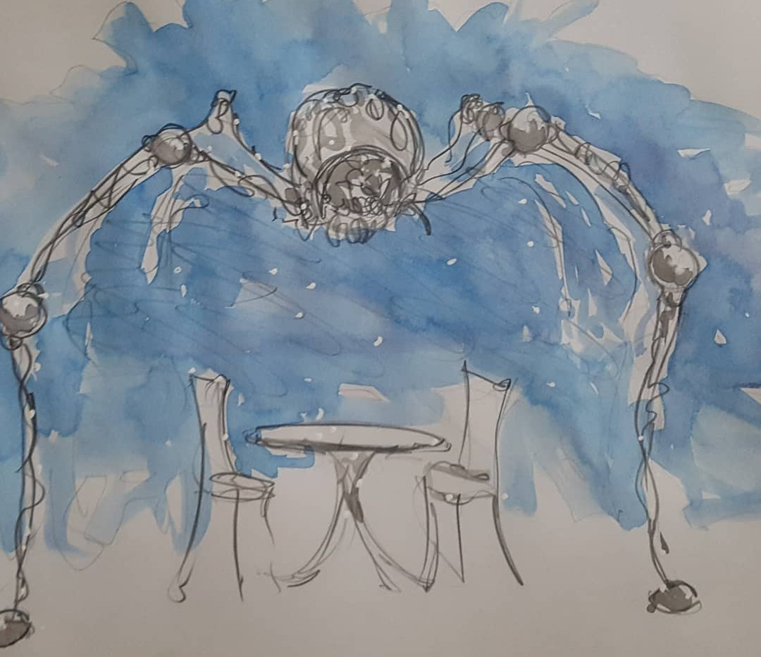 Initial sketches of Claude