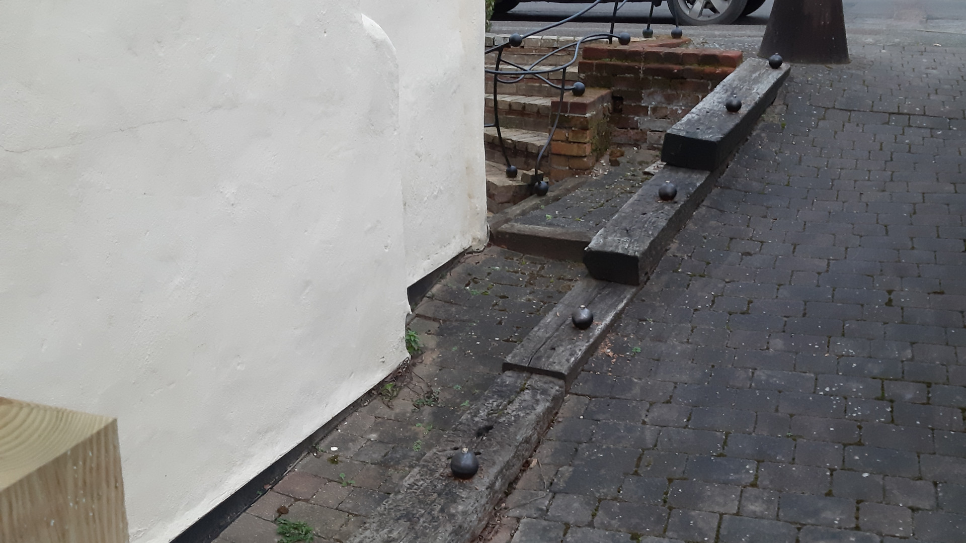 Handrails prep