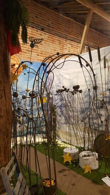 Creative metalwork at Blackthorpe Barn
