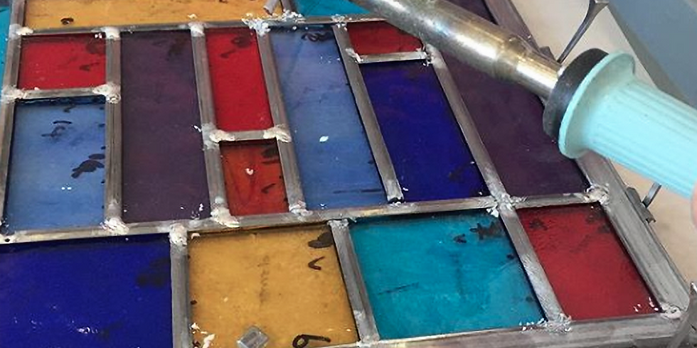 Weekend beginner class in Stained Glass : £190 : 2-day workshop