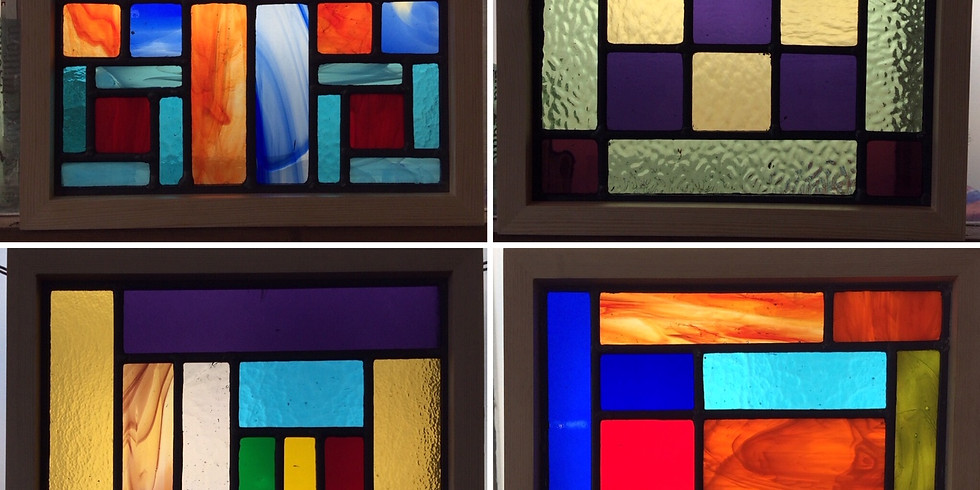 Weekend beginner class in Stained Glass : £190 for 2-day workshop