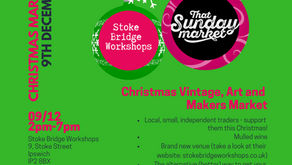 Christmas shopping at Stoke Bridge Workshops