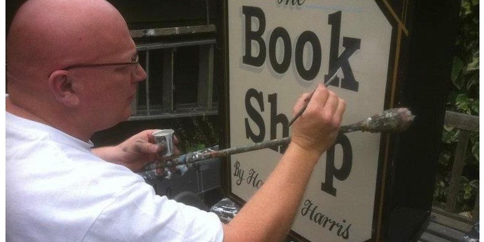 Signwriting for Beginners (3) : £125 : 10am - 4pm