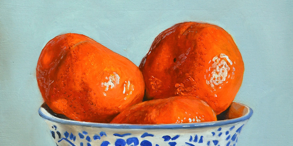 Still life in oil paints for beginners