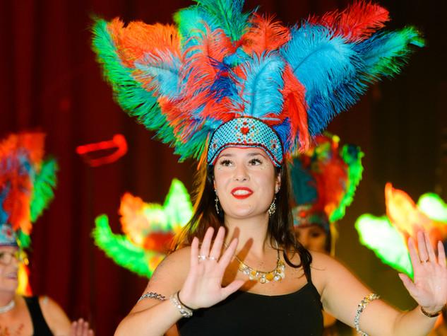 Suffolk School of Samba dancers