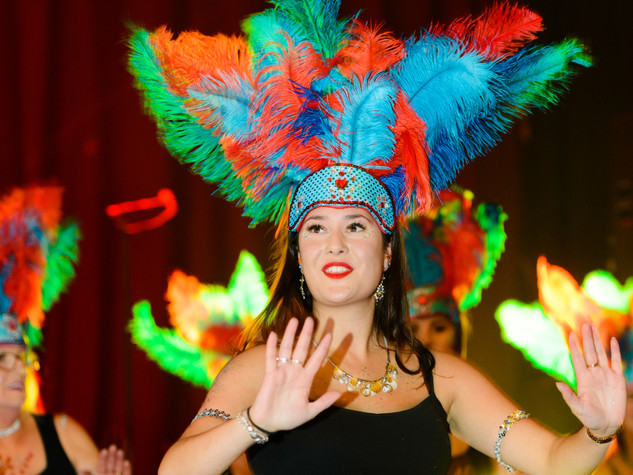 Suffolk School of Samba dancers