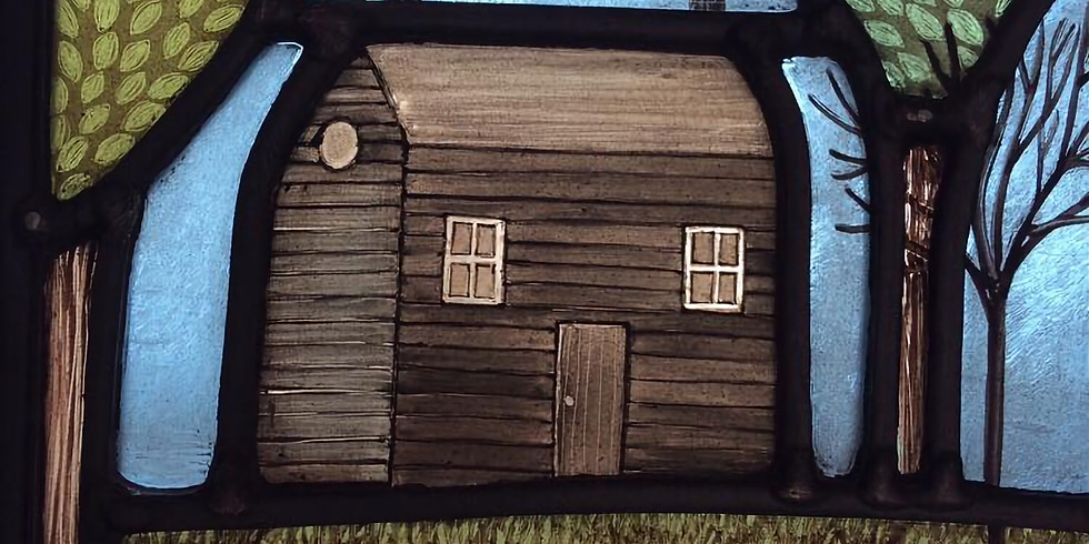 Follow-on Stained Glass Workshop: Stained Glass with Painting : £215 : 6-date eve workshop