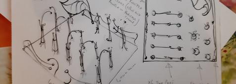 RHS Garden show design drawing
