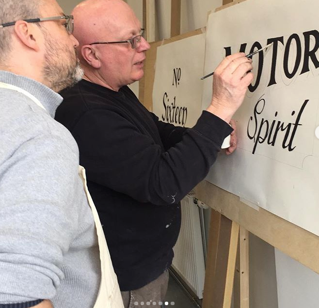 signwriting workshops