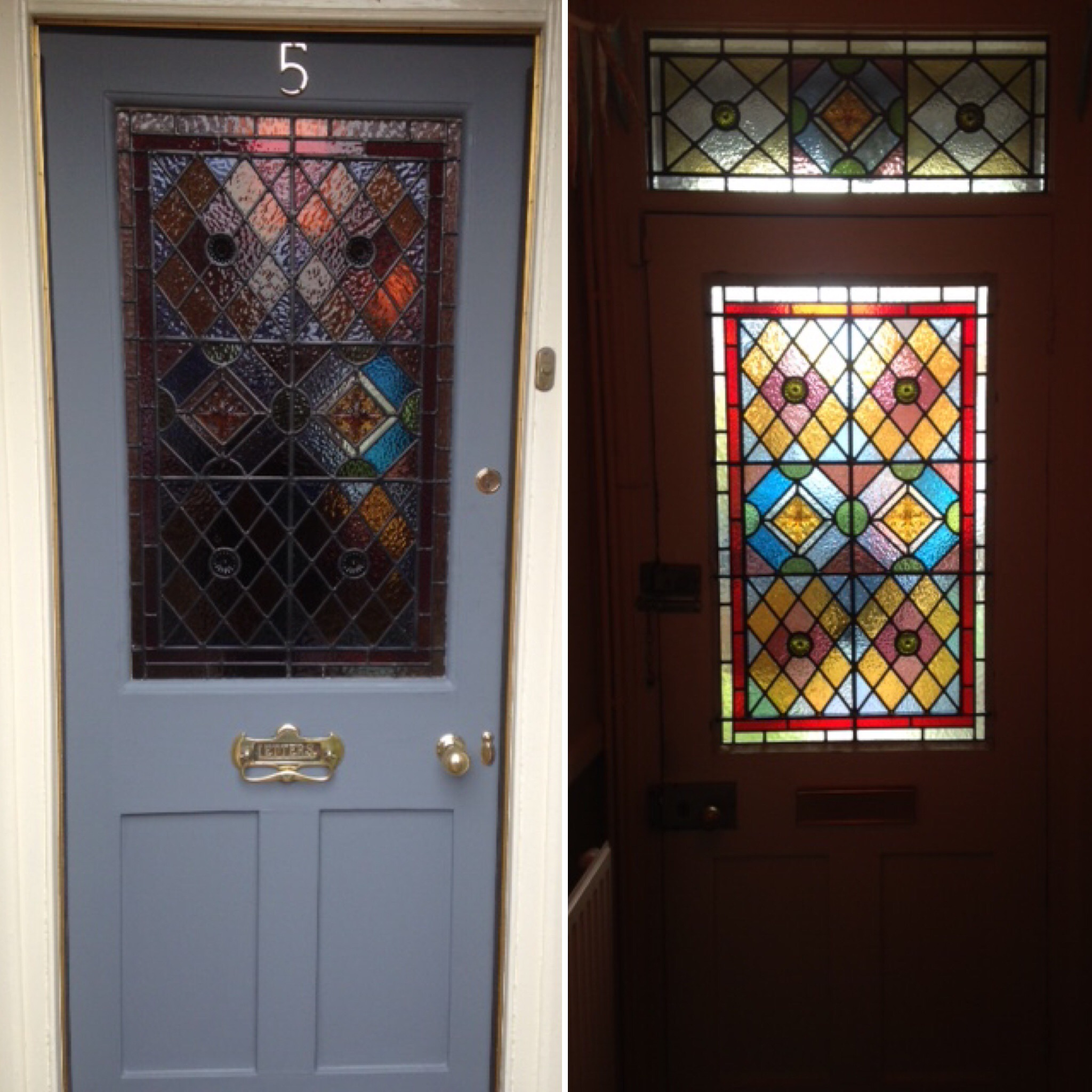 Domestic and commercial stained glass restoration