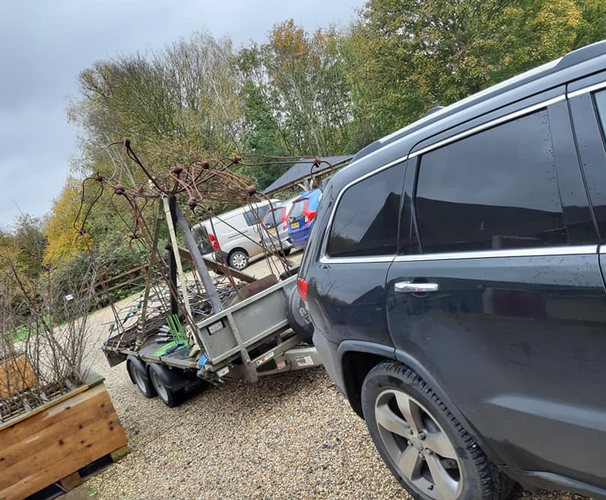 Renard's transport to Blackthorpe Barn