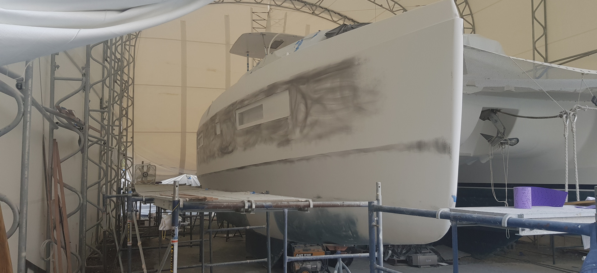 Preparation of the Hull