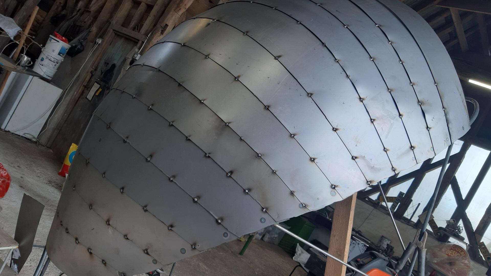 RHS Garden show canopy