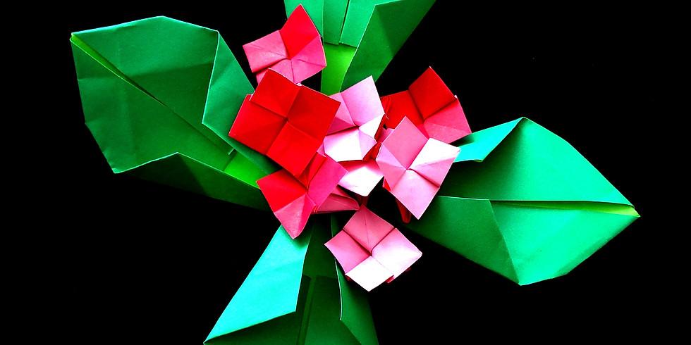 Zoom Origami Flowers with Monika Cilmi