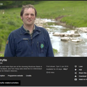 COUNTRYFILE EU SEGMENT FEATURES THE RIVERS TRUST