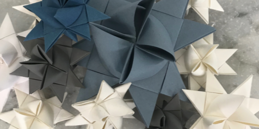 Christmas Froebel Stars - £35 - 2-hour evening workshop