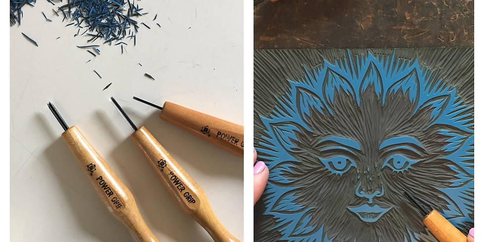 An Introduction to Linocut : £80 : 10am to 4pm