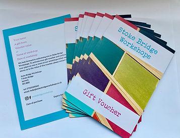 Stoke Bridge Workshops Gift Voucher