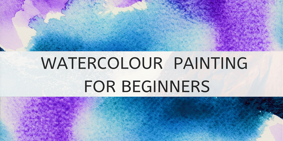 4-week Evening Class: Watercolour Painting for Beginners