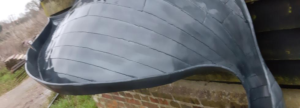 Organic form canopy