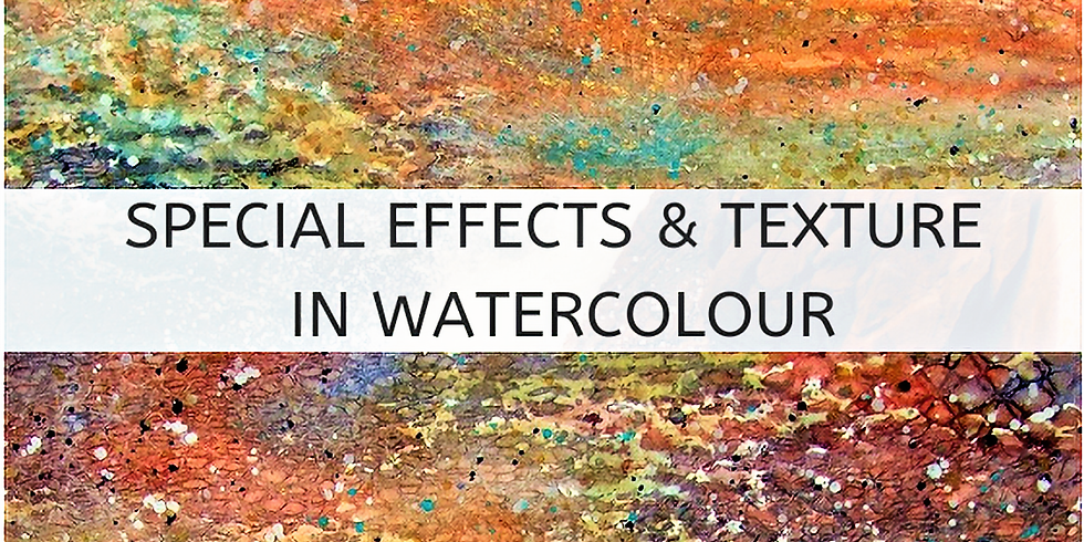Special Effects & Texture in Watercolour with Deborah Burrow