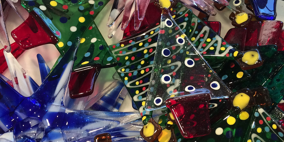 Fused Glass Christmas Decorations : £40 : 2.5-hour weekend workshop