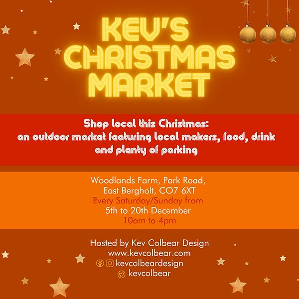 Kev Colbear Christmas Market Dates_Insta