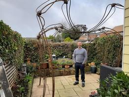 10' x 10' spider arbour 'Claude'