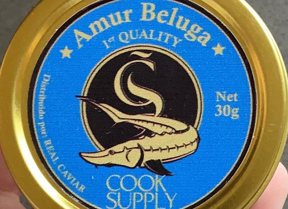 Amur Beluga Kaviaar (per 100 gram)