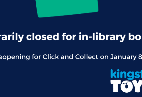 Open for click and collect from January 8th